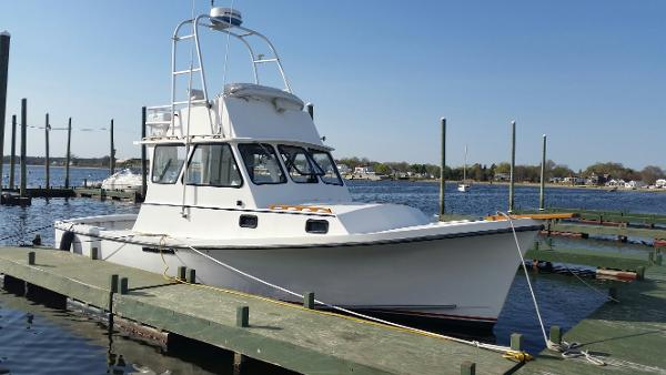 Eastern Boats Downeast Flybridge