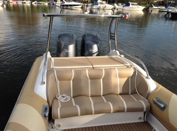 Cobra Ribs Nautique 9.6m Rear Seating