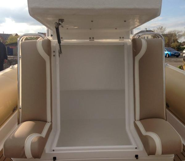 Cobra Ribs Nautique 9.6m Storage