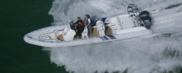 Cobra Ribs Nautique 9.6m Running Shot
