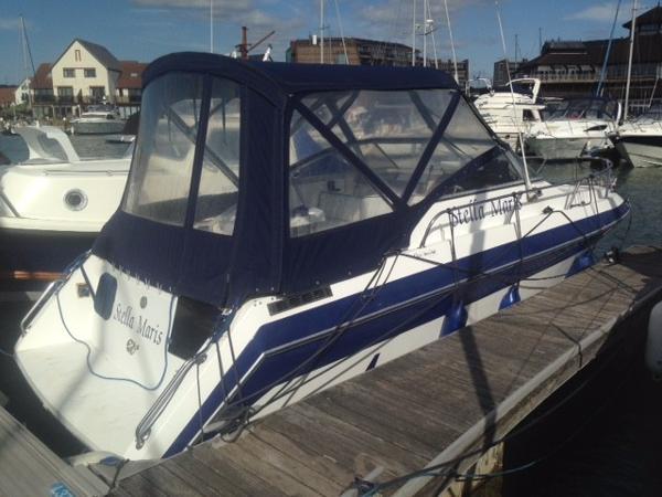 Invader 24 starboard side