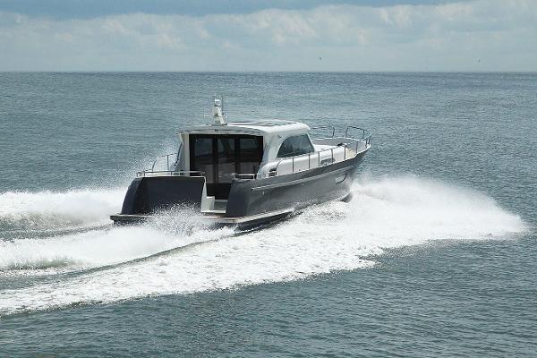 Steeler NG43 Offshore Aluminium Steeler NG43 Aluminium on trial
