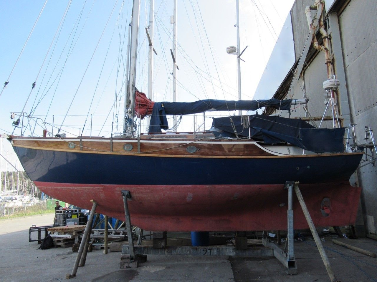 Rossiter Yachts Curlew Cutter