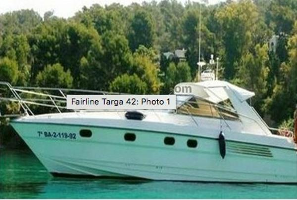 Fairline Targa 42 Fairline Targa 41 OPEN