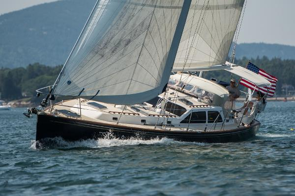 Morris Yachts 48 Sailing to windward