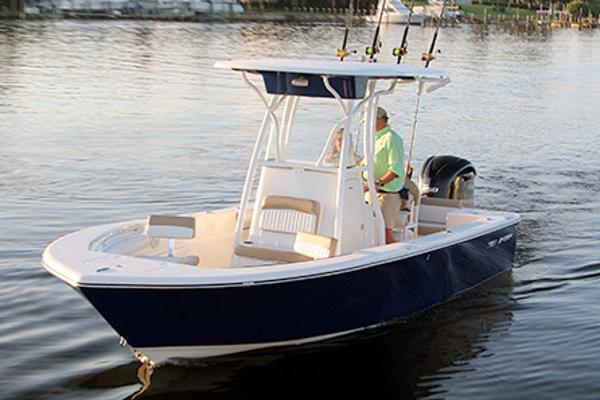 Sea Born LX22 Center Console Manufacturer Provided Image