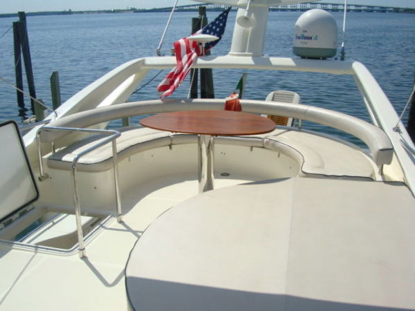 Flybridge Custom Table