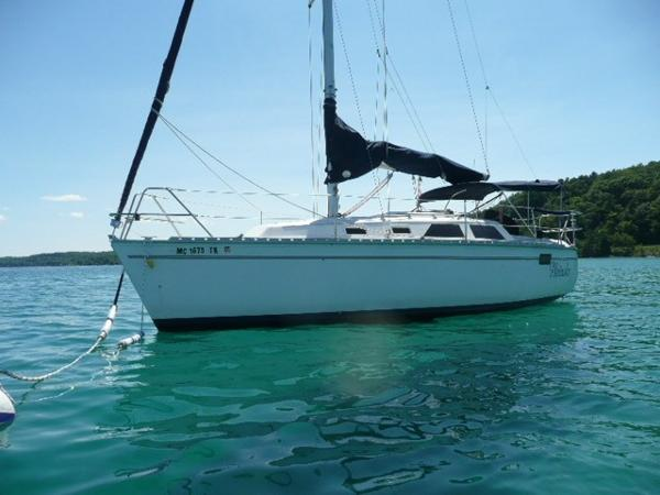 Hunter 28 Port profile