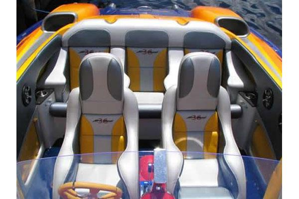 Manufacturer Provided Image: Cockpit Seating