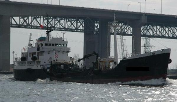 Single Hulled Cargo Vessel