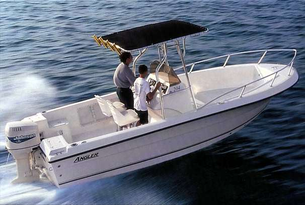 Angler 204 Center Console Manufacturer Provided Image