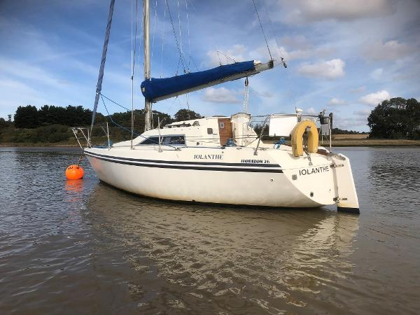 Hunter Horizon 26 Hunter Horizon 26 - On mooring