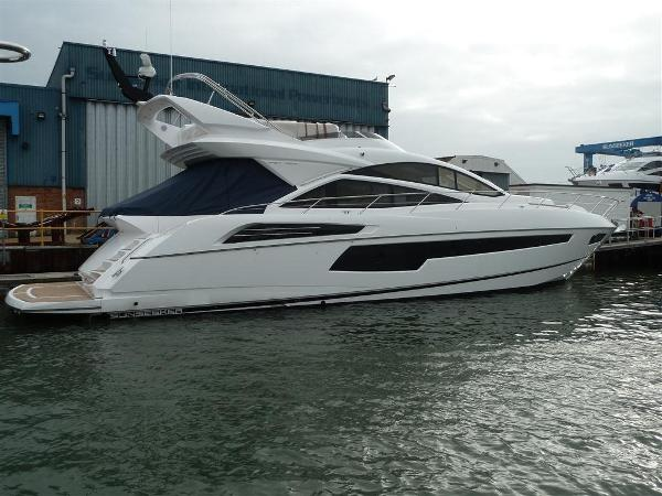 Sunseeker 68 Sport Yacht Profile
