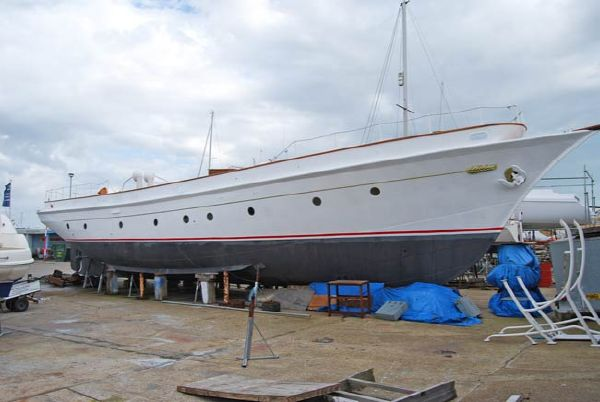 Twin Screw Steel Schooner Project Fair Lady II