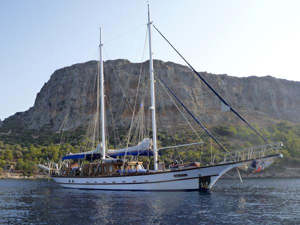 Aegean Yachts STEEL SCHOONER main