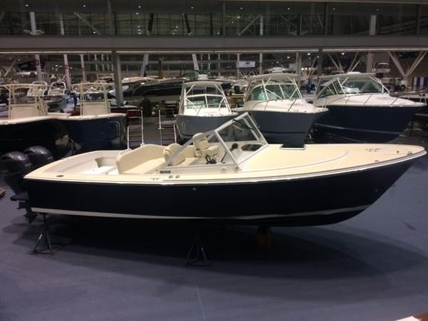 Limestone Cuddy At Boston Boat show