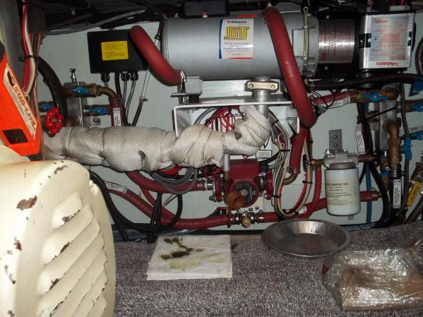 Wabasto Hydronic Heat System