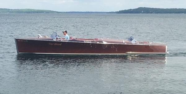 Garwood 28' Triple Cockpit Runabout