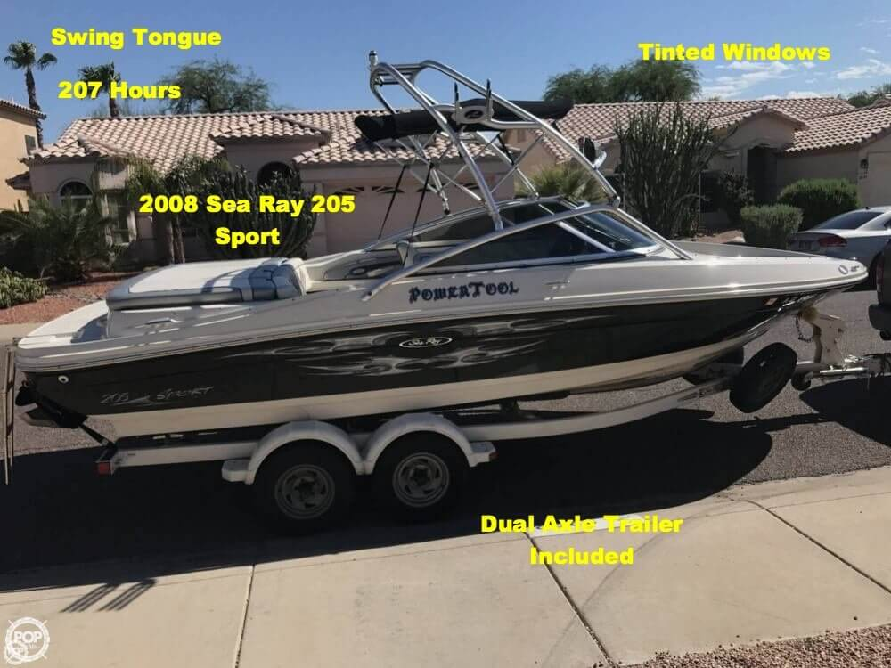 Sea Ray 205 Sport 2008 Sea Ray 205 Sport for sale in Phoenix, AZ