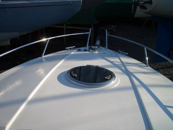 Windy 28 Ghibli Fordeck