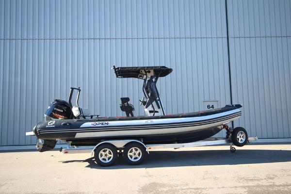 Zodiac Open 7 NEO with T-Top 250hp Demo In Stock