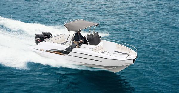 Beneteau flyer 7.7 space deck