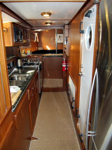 Galley facing forward