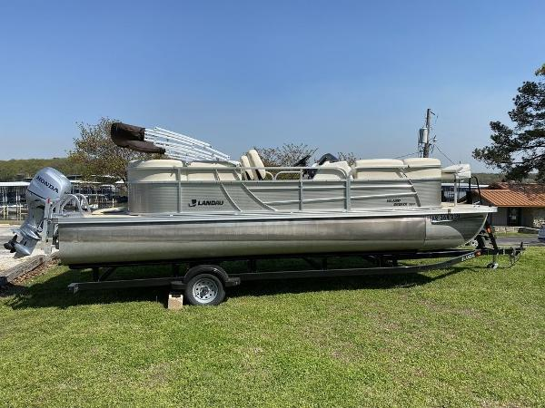 Landau 232 Island Breeze Cruise Rear Fish Brutus Dual-Log