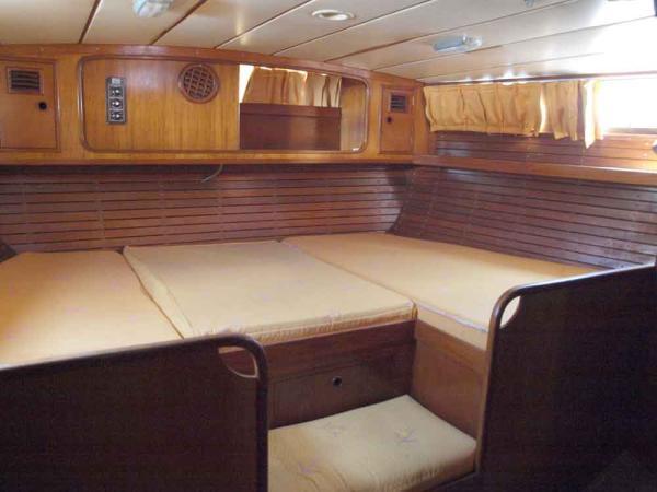 Nautor 50, owner's cabin