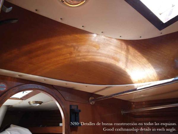 Nautor 50, craftmanship