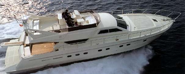 Ferretti Yachts 62 Manufacturer Provided Image