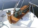 Manual windlass & new anchor platform