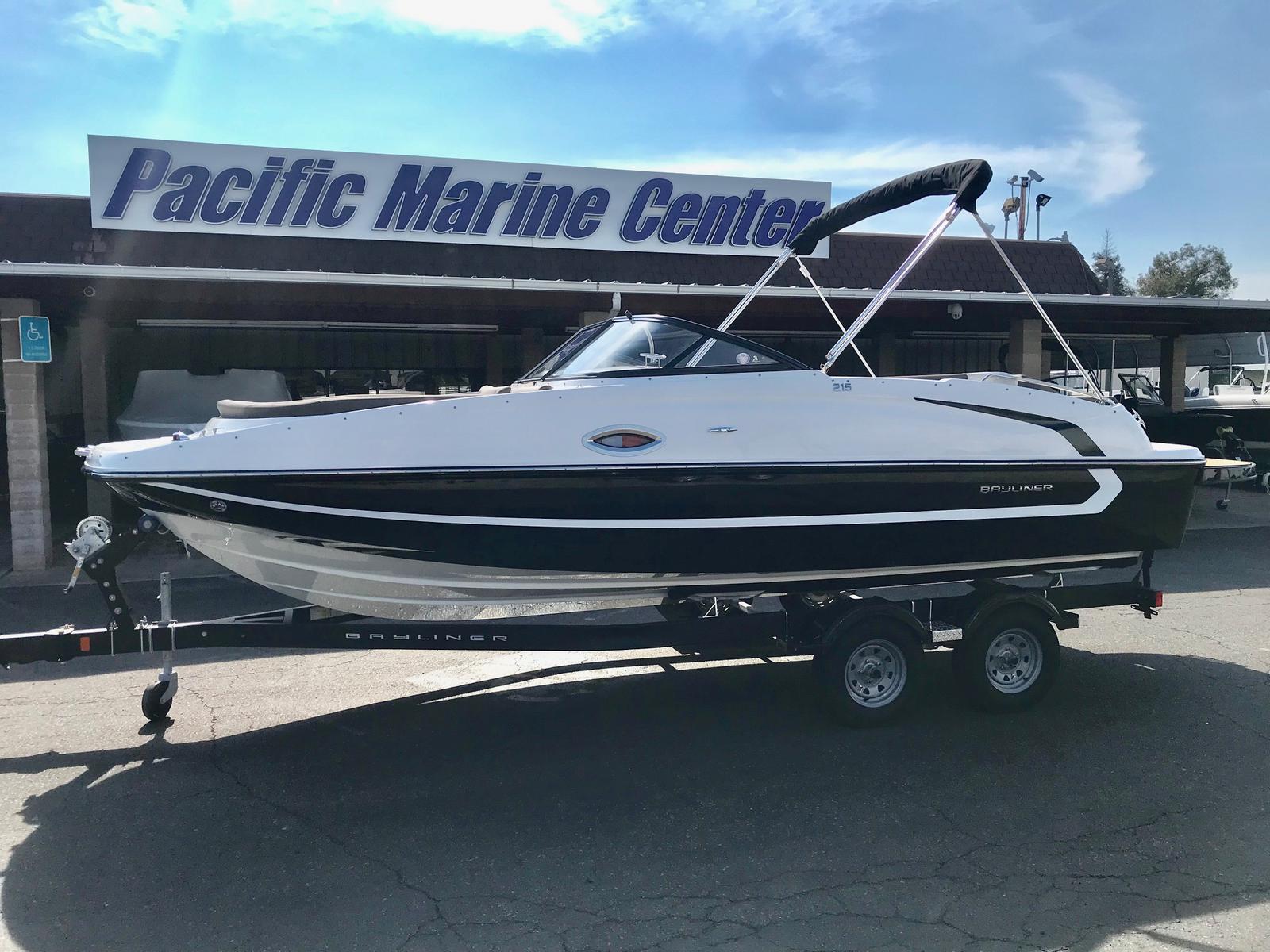 Bayliner 215 Deck Boat w/ 250HP!