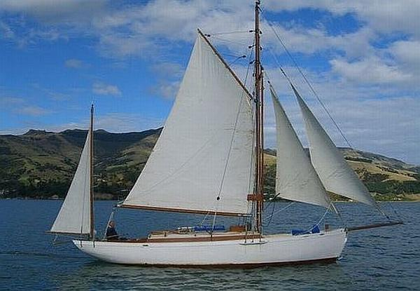 Anderson and Son Gaff Rigged Yawl