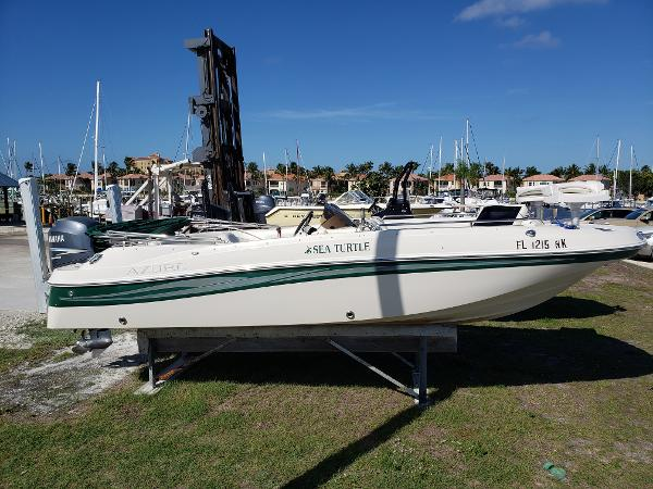 Azure AZ210 OB Outboard Powered Deck Boat
