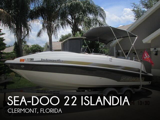 Sea-Doo 22 Islandia 2007 Sea-Doo 22 Islandia for sale in Clermont, FL