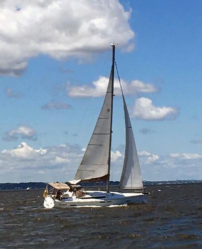Jeanneau Sun Odyssey 409 Jeanneau 409 underway