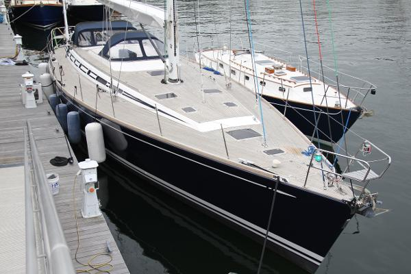 Nautor Swan 62 Deck from bow