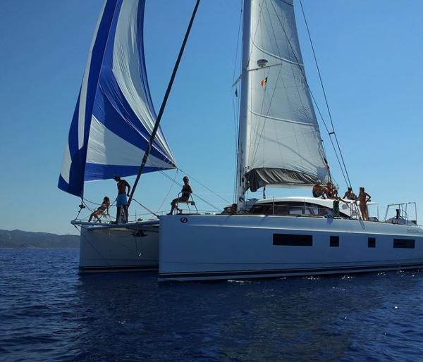 Nautitech 542 Sailing