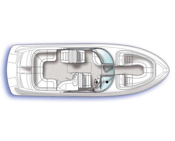 Sea Ray 290 Select EX Manufacturer Provided Image: Optional Layout