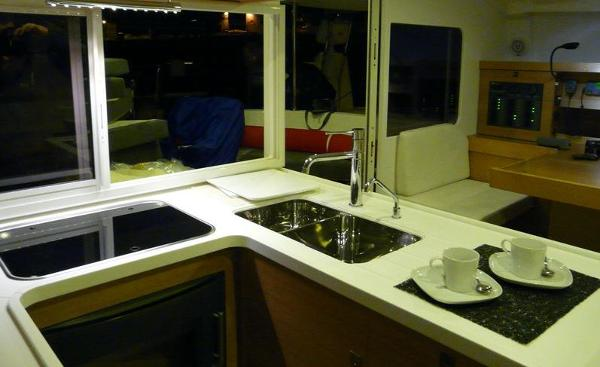 Nautitech 442 Galley