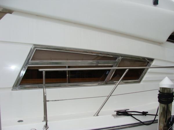 Stainless Windowframes