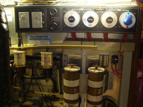 Aft Engine Room Wall
