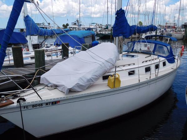 Watkins 33 Seawolf Portside Profile