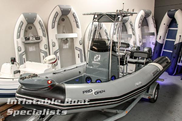 Demo Zodiac Pro Open 650 T-Top w/Twin F70s