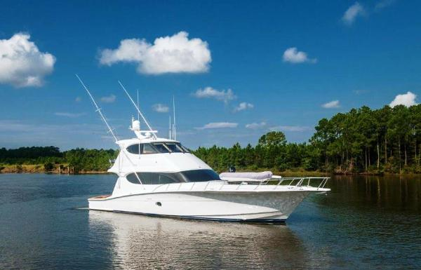Hatteras 64 Convertible Profile