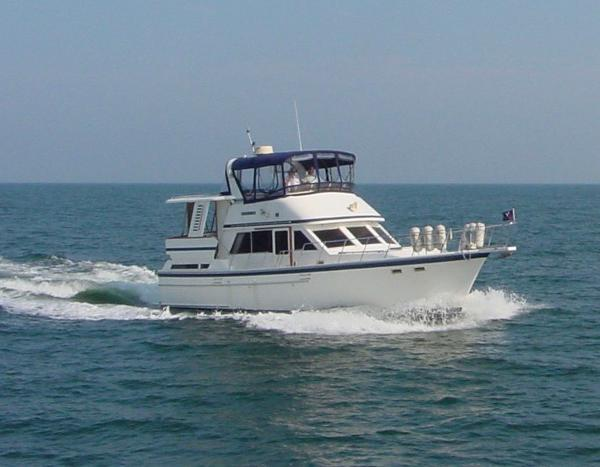 Jefferson 42 Sundeck Motor Yacht Jefferson 42 Underway