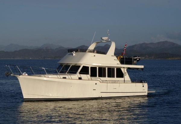 Explorer Motor Yachts 46 Sedan Manufacturer Provided Image: Explorer Motor Yachts 46 Sedan
