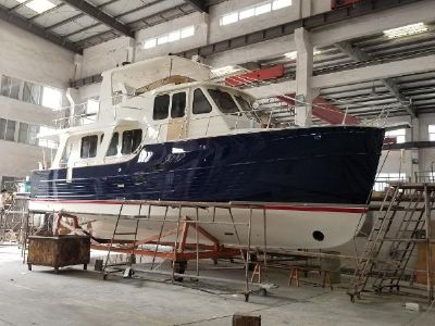 Explorer Motor Yachts 46 Pilot House Manufacturer Provided Image