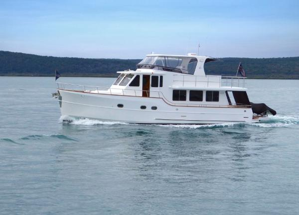 Explorer Motor Yachts 50 Pilot House Manufacturer Provided Image: Explorer Motor Yachts 50 Pilot House